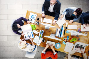 colleagues work together without displaying microaggressions