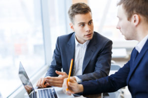 the HR consultant details how he will improve the prospective client HR affairs