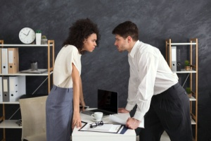 When colleagues have to manage conflict in the workplace