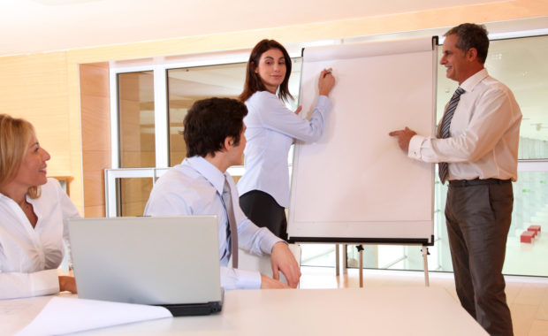 as part of workplace discipline employees write down how they can improve