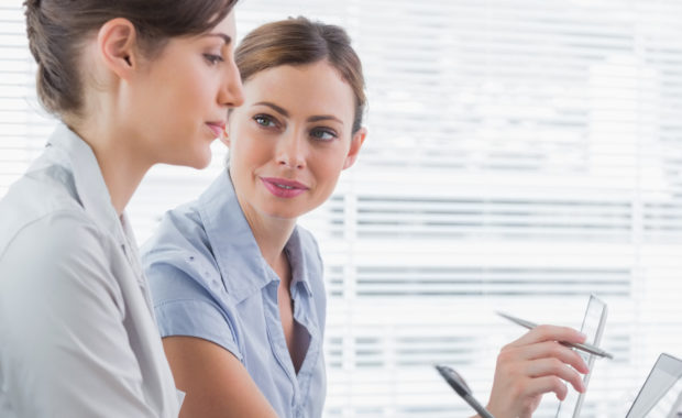 manager has a positive demeanor when dealing with a disgruntled employee