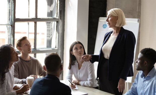 employees exhibiting fair treatment in the workplace