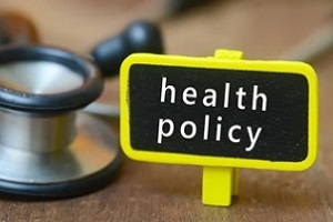 health policy sign board
